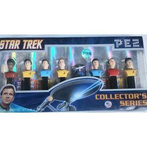 ♥HP♥️ Vintage Star Trek Pez Collector's Edition